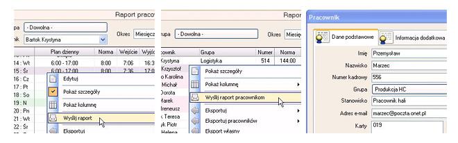 Moduł E-mail